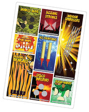 Retro Indoor Fireworks - Seasoned Logs Surrey