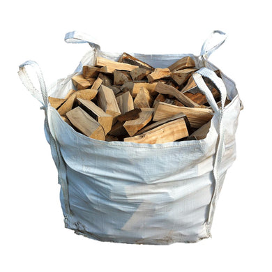 Bulk Bag Kiln Dried Ash Logs - Seasoned Logs Surrey