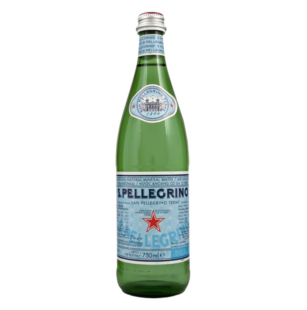 San Pellegrino - Sparkling Mineral Water 75cl - Seasoned Logs Surrey