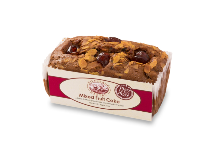 Riverbank - Mixed Fruit Cake 400g - Seasoned Logs Surrey