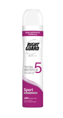 Right Guard Total Defence Anti-Perspirant Sport For Women 250ml - Seasoned Logs Surrey
