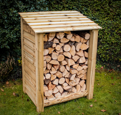Small Log Store - Seasoned Logs Surrey