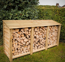 Extra Large Log Store - Seasoned Logs Surrey