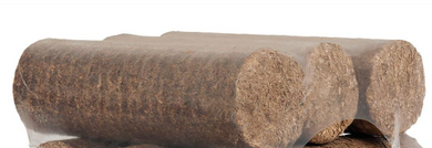 NEW! Hotlogs Round Wood Briquettes Heat Logs 5kg pack