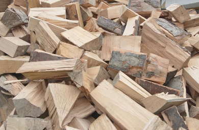 Ash Seasoned Logs - Loose Load - Seasoned Logs Surrey