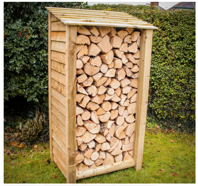 Standard Tall Log Store - Seasoned Logs Surrey