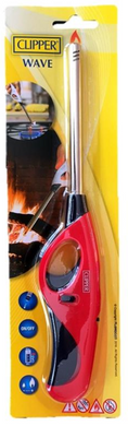 Refillable Gas Lighter with Safety Lock - Seasoned Logs Surrey