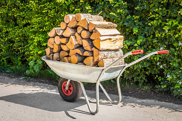 Stacking Service - Seasoned Logs Surrey
