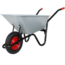 Wheelbarrow Metal Heavy Duty 120L - Seasoned Logs Surrey