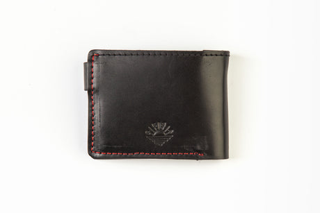 Wallet with mtorcycle
