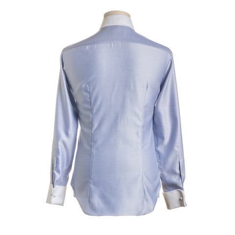 DAFOE Blue Modern Mens Shirt