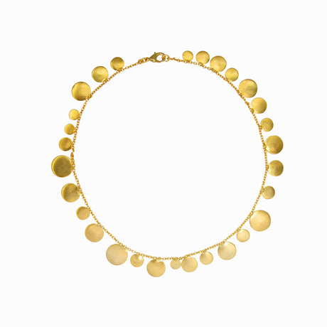Golden Coin Necklace Choker