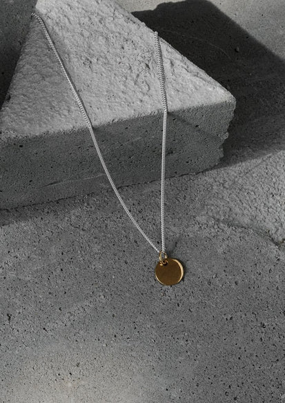Plate Silver and Gold Plated Necklace