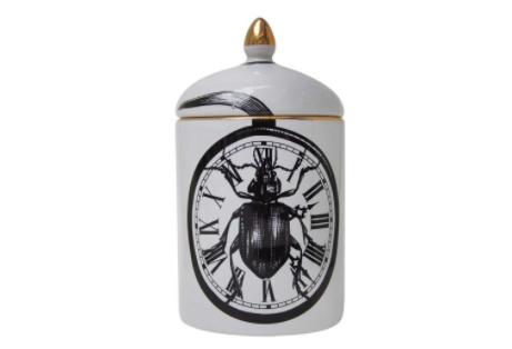 Cosy Candle Beetle Clock