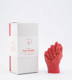 FIG HAND red