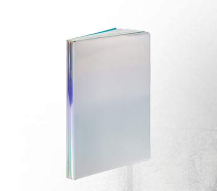 Notebook Fluid chrome