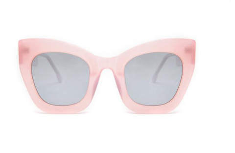 Square Oversized Pink Supernormal Sunglasses