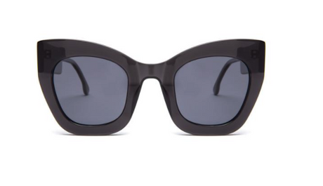 Square Oversized Black Supernormal Sunglasses