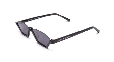Skinny Style Black Supernormal Sunglasses
