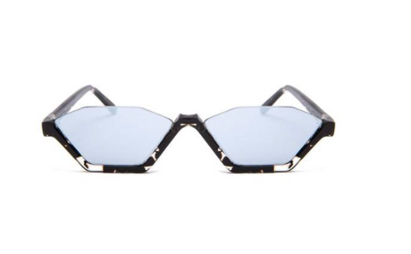 Skinny Style Mirrored Supernormal Sunglasses