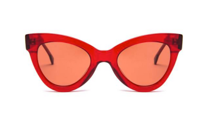 Cat Eye Style Red Supernormal Sunglasses
