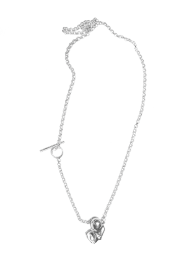 The Mould Necklace in Silver