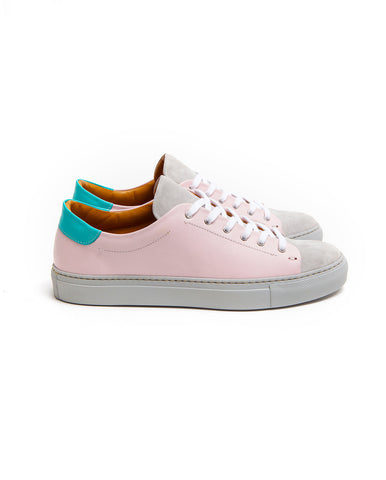 Low top milkshake leather sneakers