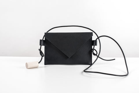 Water Resistant Leather Mini Bag