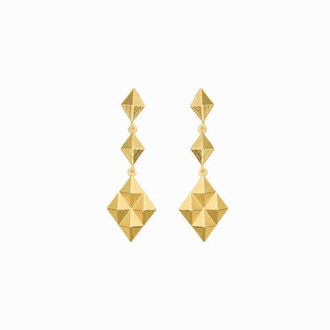 Golden Kite Earrings