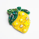 Brooch Lemon