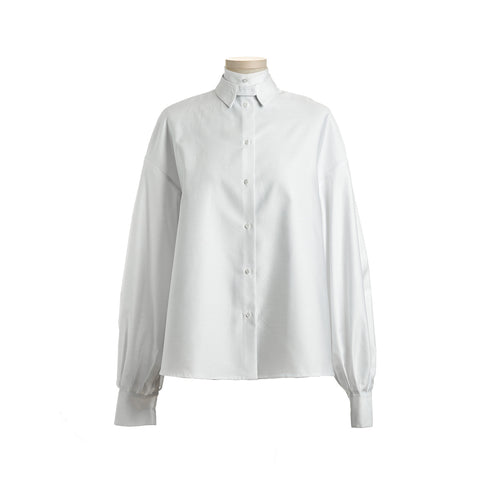 HELENA White Women's Shirt