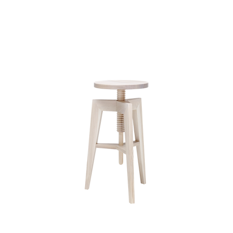 "stool ""Screw bench"" in ash"