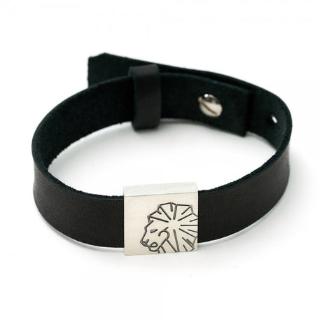"Leather Bracelet ""Lion"""
