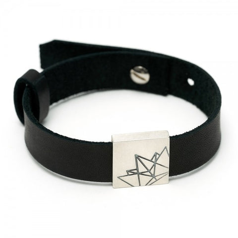 "Leather Bracelet ""King"""