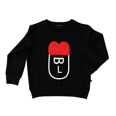 Bulb face sweatshirt