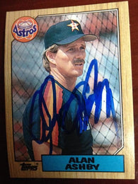 Andy Ashby Signed 1987 Topps Baseball Card - Houston Astros - PastPros