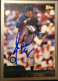 Jamie Moyer Signed 2000 Topps Baseball Card - Seattle Mariners