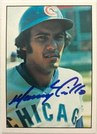 Manny Trillo Signed 1975 SSPC Baseball Card - Chicago Cubs