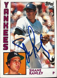 Shane Rawley Signed 1984 Topps Baseball Card - New York Yankees - PastPros