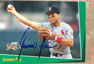 Geronimo Pena Signed 1993 Score Select Baseball Card - St Louis Cardinals - PastPros