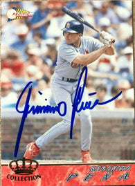 Geronimo Pena Signed 1994 Pacific Crown Baseball Card - St Louis Cardinals - PastPros