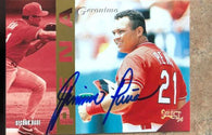 Geronimo Pena Signed 1994 Score Select Baseball Card - St Louis Cardinals - PastPros