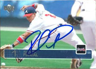 Rafael Furcal Signed 2003 Upper Deck Baseball Card - Atlanta Braves