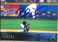 Rafael Furcal Signed 2004 Upper Deck Baseball Card - Atlanta Braves