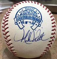 Mike Witt Signed 1986 All-Star Baseball - California Angels