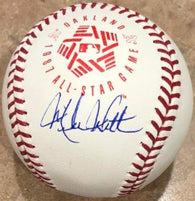 Mike Witt Signed 1987 All-Star Baseball - California Angels