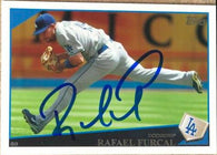 Rafael Furcal Signed 2009 Topps Baseball Card - Los Angeles Dodgers
