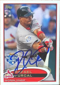 Rafael Furcal Signed 2012 Topps Baseball Card - St Louis Cardinals