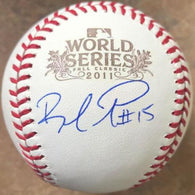Rafael Furcal Signed 2011 World Series Baseball - St Louis Cardinals