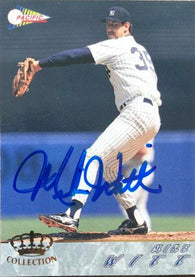 Mike Witt Signed 1994 Pacific Crown Baseball Card - New York Yankees